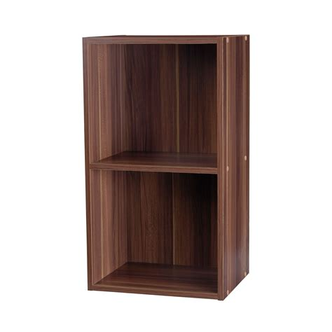 Bookcase Shelving Unit by 2 4 Tier Wooden Bookcase Shelving Bookshelf Storage