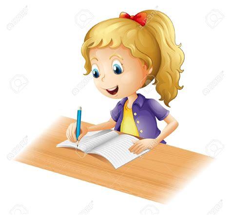 school work clipart child doing homework clipart clipground