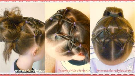 woven twist headband hairstyle  soccer gymnastics