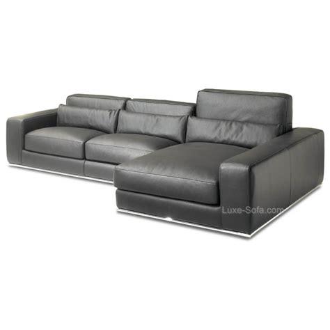 canape cuir de luxe canapé d 39 angle de luxe en cuir de vachette matisse verysofa
