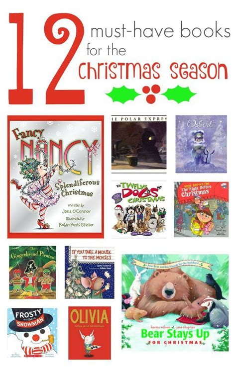 12 Musthave Books For The Christmas Season  Books And Craft Activities
