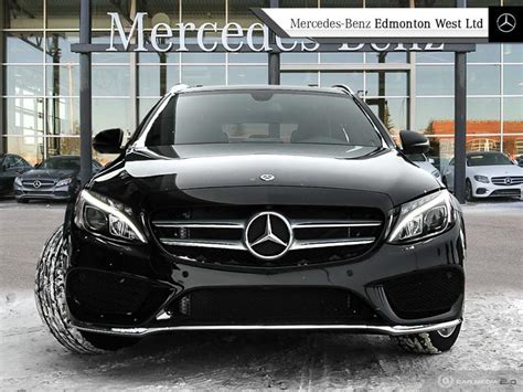 Learn more about price, engine type, mpg, and complete safety and warranty information. New 2018 Mercedes-Benz C300 4MATIC Wagon Wagon in Edmonton, Alberta