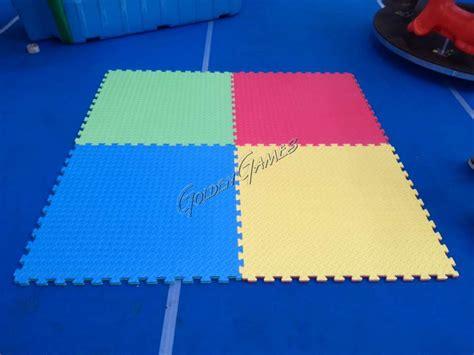 tappeto antitrauma per esterni tappeto antitrauma da interno bicolore verde azzurro