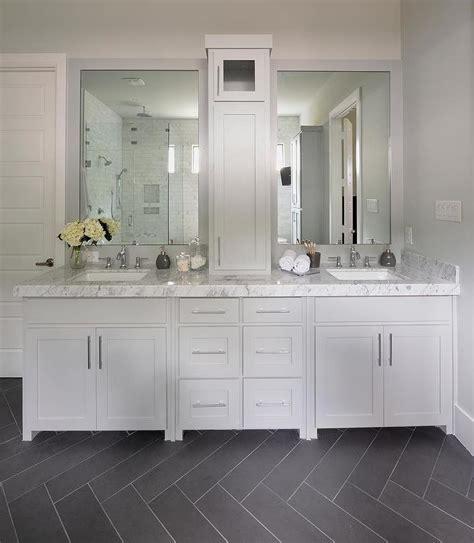 Grey Bathroom Tile Floor by Master Bathroom Design Grey Bathroom Vanity Gray