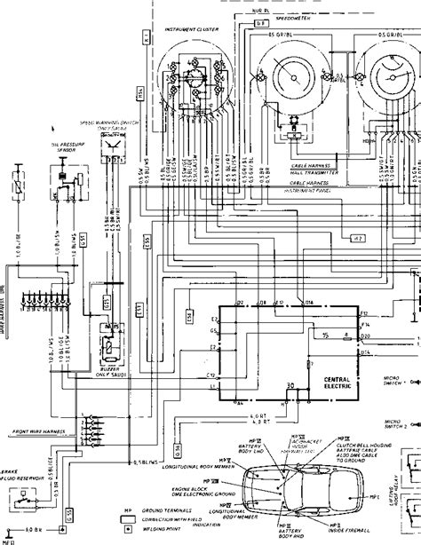 Porsche 928 Fuel Wiring Diagram by Wiring Diagram Type 924 S Model 86 Sheet Porsche 944