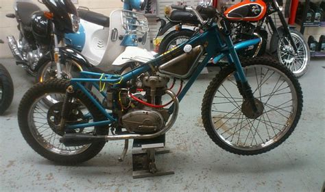 Bsa C15 Elstar 60-70's Grasstrack Grass Track Bike Racing
