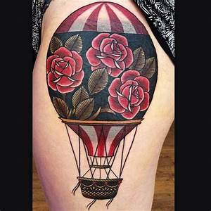Air Balloon Tattoos The Are Out Of This World Amazing