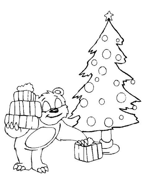 Kleurplaat Kerstboom Met Pakjes by Kleurplatenwereld Nl Gratis Kerstmis Kleurplaten