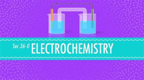 electrochemistry crash  chemistry  youtube