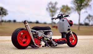 Custom Honda Ruckus Motorcycle