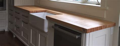 cuisine comptoir bois comptoir de cuisine en bois giroux wraste com