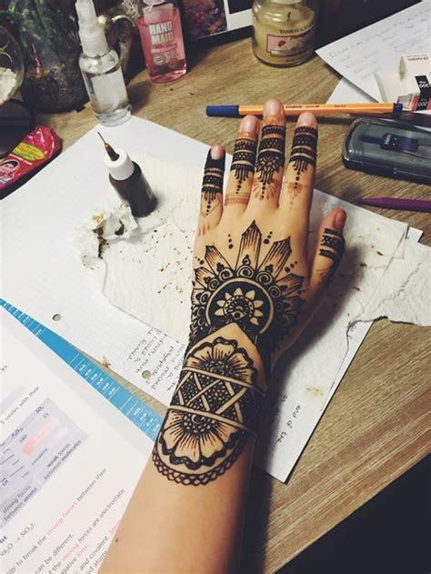 beautiful henna tattoo ideas  girls