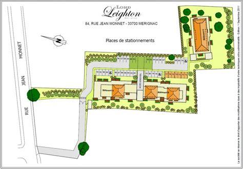 siege pour plan de masse lord leighton mérignac 33 les programmes severini pierres et loisirs