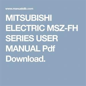 Mitsubishi Electric Msz
