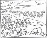 Coloring Pioneer History Children Mormon Transportation Handcart Colouring Early 1923 Improvement October Template Printables Communication Horse Popular Pioneers Pulling Sketch sketch template