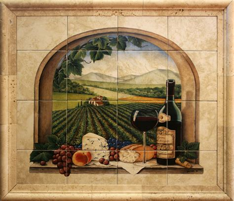 kitchen tile backsplash murals ceramic tile murals for kitchen or barbeque backsplash and bathroom walls