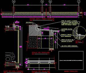 Glazed Roof Details DWG Detail for AutoCAD • Designs CAD