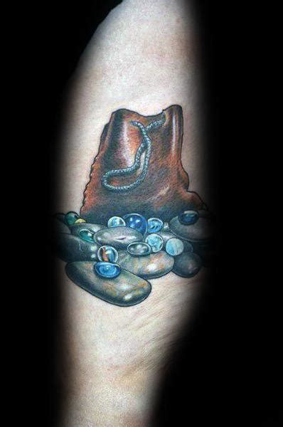 marble tattoo designs  men glass ball ink ideas