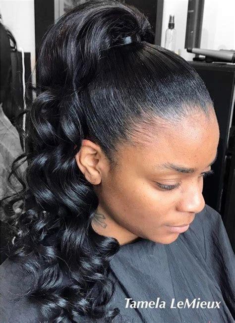 womans haircuts les 25 meilleures id 233 es de la cat 233 gorie curly ponytail 3360