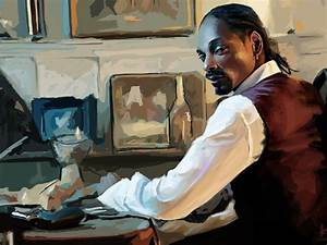 American calvin broadus snoop dogg artwork black people ...