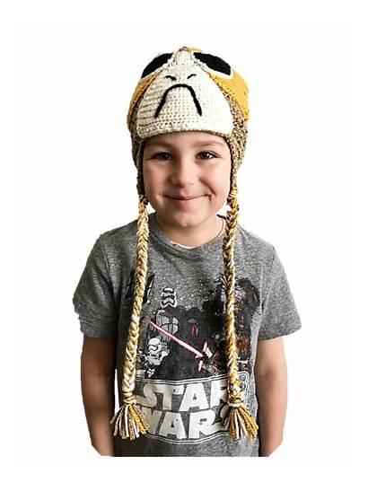 Porg Wars Ravelry Crochet Hat Character Pattern