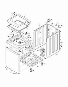 Frigidaire Fahe4044mw0 Washer Parts