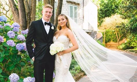 Kevin De Bruyne, his wife Michele Lacroix, and his ...