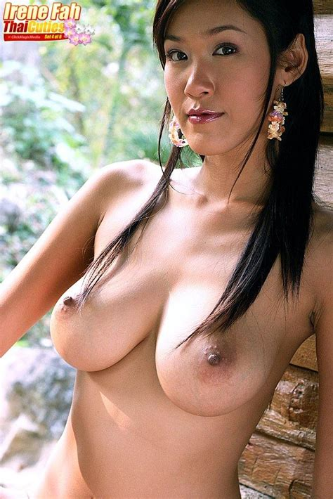 Asian Babe With Big Boobs Irene Fah Poses Nude 1 Of 1
