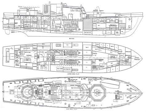 boat blueprint zoeken cutaways boat plans boat building plans deck plans
