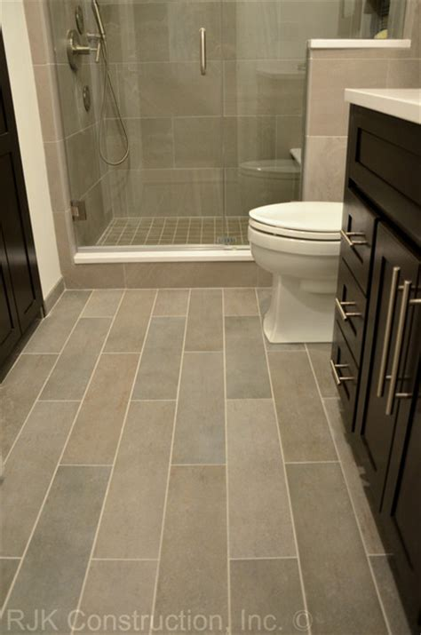 masculine bathroom renovation contemporary bathroom dc metro  rjk construction