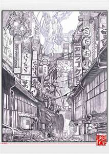 Portfolio Josselin CLAIRET » Dessin Tokyo