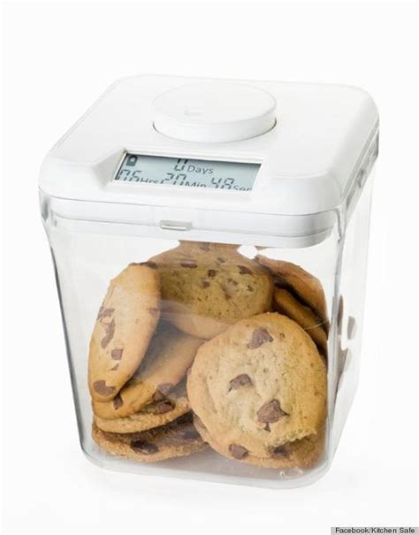 the kitchen safe this kitchen gadget locks your cookies away so you can t