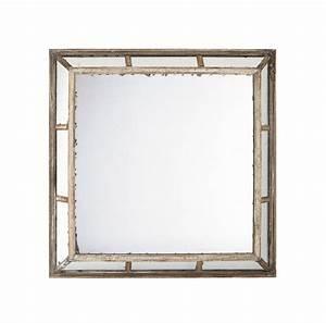 Grand Miroir Maison Du Monde : grand miroir maison du monde 4 miroir d233co carr233 glace vieilli miroir d233coration ~ Teatrodelosmanantiales.com Idées de Décoration