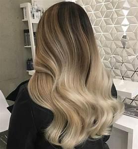 Ansatz Färben Blond : ombre haare f rben ideen f r ombre blond br nett und bunte farben ~ Frokenaadalensverden.com Haus und Dekorationen