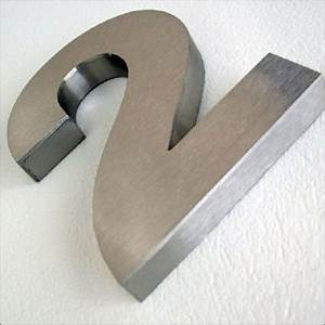 Numéro De Maison Design : num ros de maison inox 3d votre num ro de rue en relief ~ Dailycaller-alerts.com Idées de Décoration