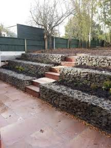 cost to install retaining wall terraced garden french drain and in the us on pinterest