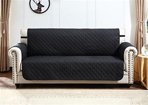 Argstar Reversible Large Sofa Cover Professional Black