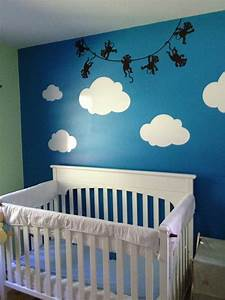 Lovely Nursery Decor Ideas With Secured Bedroom Appliances
