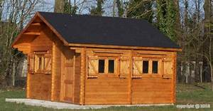 Abri De Jardin Metal 20m2 : abri jardin bois chalet magny 5x6 m 30m2 sans plancher ~ Melissatoandfro.com Idées de Décoration