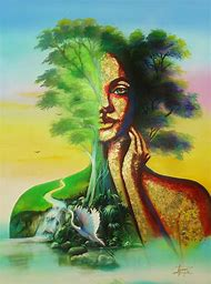 Mother Earth Painting