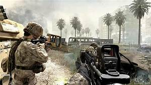 Us Marine Corps In Heavy City Combat   Call Of Duty 4