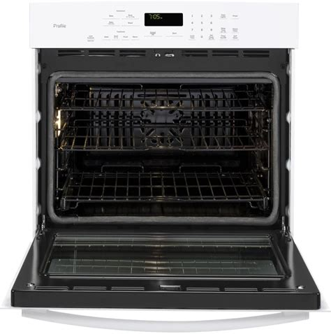 ge oven racks ge pt7050dfww 30 inch single electric wall oven with true