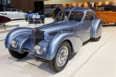 Bugatti's original la voiture noire exited the company's molsheim factory in 1937. File:Paris - Retromobile 2012 - Bugatti type 57SC Atlantic ...
