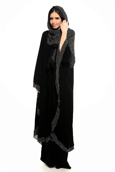 colored abaya collection  arzu ergen black