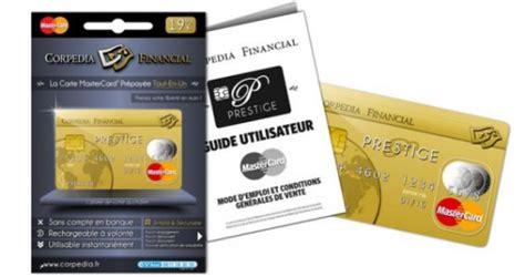 carte bancaire vendu au bureau de tabac corpedia financial lance la carte de paiement prépayée