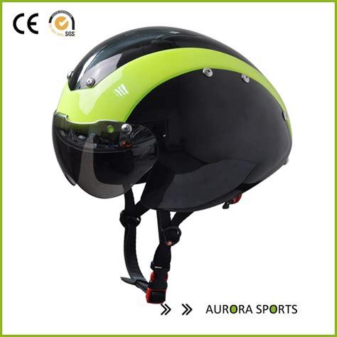 professionelle zeitfahren track bike helm mit brille au