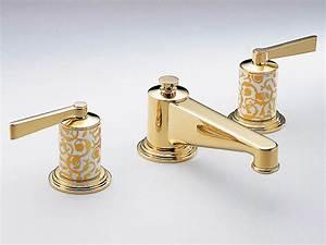 Robinet 3 Trous Lavabo : robinet pour lavabo 3 trous froufrou collection pierre ~ Edinachiropracticcenter.com Idées de Décoration