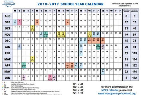 countys school calendar legislature