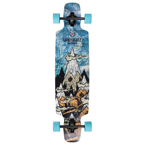 landyachtz drop carve 40 longboard complete evo