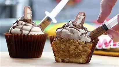 Cupcake Twix Shots Caramel Cupcakes Syringe Trend